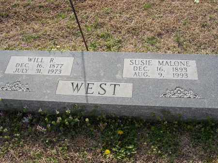 MALONE WEST, SUSIE - Cross County, Arkansas | SUSIE MALONE WEST - Arkansas Gravestone Photos