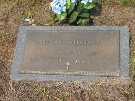 WHATLEY (VETERAN), OSCAR - Cross County, Arkansas | OSCAR WHATLEY (VETERAN) - Arkansas Gravestone Photos