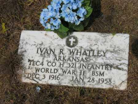 WHATLEY (VETERAN WWII), IVAN R - Cross County, Arkansas | IVAN R WHATLEY (VETERAN WWII) - Arkansas Gravestone Photos