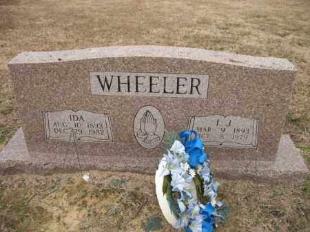WHEELER, I J - Cross County, Arkansas | I J WHEELER - Arkansas Gravestone Photos