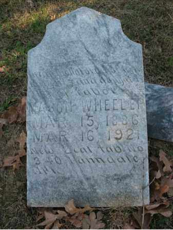 WHEELUP, MASON - Cross County, Arkansas | MASON WHEELUP - Arkansas Gravestone Photos
