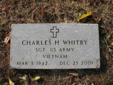 WHITBY (VETERAN VIET), CHARLES HUBERT - Cross County, Arkansas | CHARLES HUBERT WHITBY (VETERAN VIET) - Arkansas Gravestone Photos