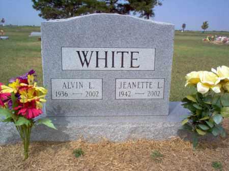 WHITE, JEANETTE L - Cross County, Arkansas | JEANETTE L WHITE - Arkansas Gravestone Photos