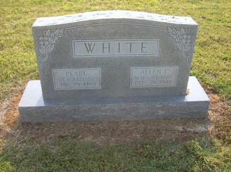 WHITE, PEARL - Cross County, Arkansas | PEARL WHITE - Arkansas Gravestone Photos