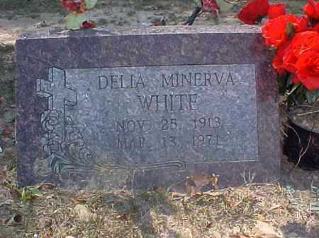 PATTERSON WHITE, DELIA MINERVA - Cross County, Arkansas | DELIA MINERVA PATTERSON WHITE - Arkansas Gravestone Photos