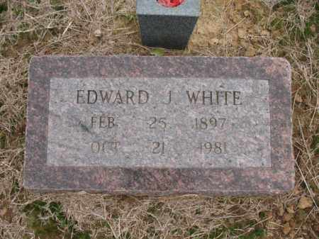WHITE, EDWARD J - Cross County, Arkansas | EDWARD J WHITE - Arkansas Gravestone Photos