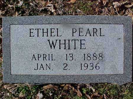 WHITE, ETHEL PEARL - Cross County, Arkansas | ETHEL PEARL WHITE - Arkansas Gravestone Photos