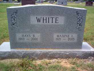 LAMBERT WHITE, MAXINE - Cross County, Arkansas | MAXINE LAMBERT WHITE - Arkansas Gravestone Photos
