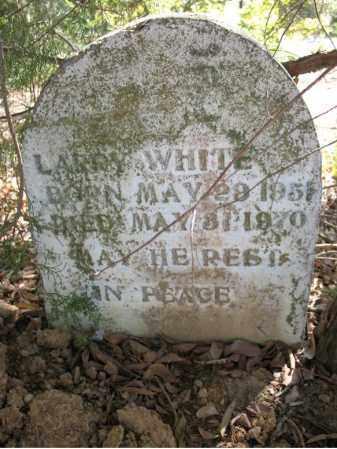 WHITE, LARRY - Cross County, Arkansas | LARRY WHITE - Arkansas Gravestone Photos