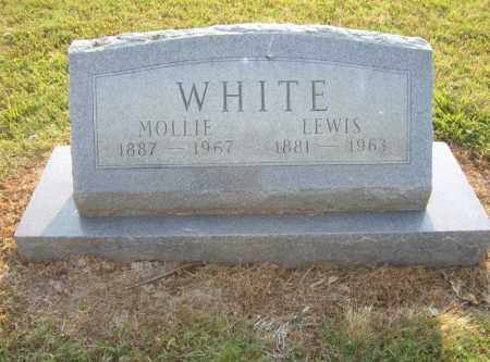 WHITE, MOLLIE - Cross County, Arkansas | MOLLIE WHITE - Arkansas Gravestone Photos