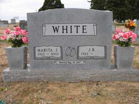 WHITE, MARITA - Cross County, Arkansas | MARITA WHITE - Arkansas Gravestone Photos
