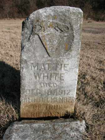 WHITE, MATTIE - Cross County, Arkansas | MATTIE WHITE - Arkansas Gravestone Photos