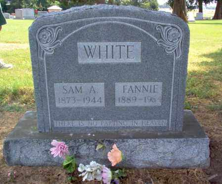 WHITE, FANNIE - Cross County, Arkansas | FANNIE WHITE - Arkansas Gravestone Photos