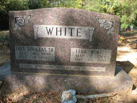 MORRIS WHITE, LENA - Cross County, Arkansas | LENA MORRIS WHITE - Arkansas Gravestone Photos