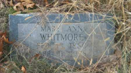 WHITMORE, MARY ANN - Cross County, Arkansas | MARY ANN WHITMORE - Arkansas Gravestone Photos
