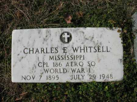 WHITSELL (VETERAN WWI), CHARLES E - Cross County, Arkansas | CHARLES E WHITSELL (VETERAN WWI) - Arkansas Gravestone Photos
