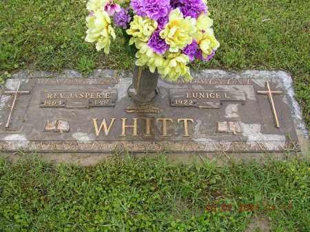 WHITT, REV JASPER E - Cross County, Arkansas | REV JASPER E WHITT - Arkansas Gravestone Photos