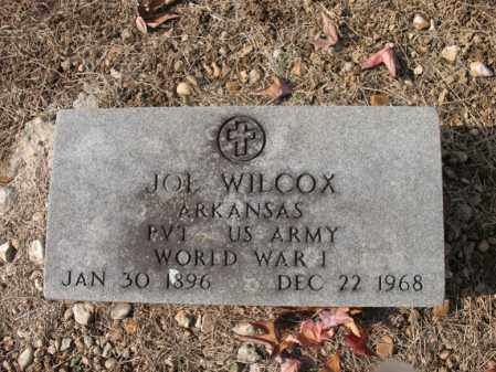 WILCOX (VETERAN WWI), JOE - Cross County, Arkansas | JOE WILCOX (VETERAN WWI) - Arkansas Gravestone Photos