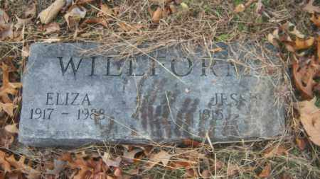 WILLFORM, JESSIE - Cross County, Arkansas | JESSIE WILLFORM - Arkansas Gravestone Photos