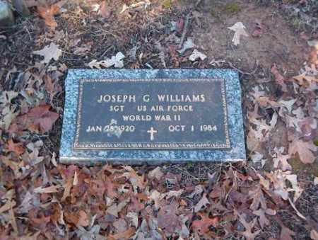 WILLIAMS  (VETERAN WWII), JOSEPH G - Cross County, Arkansas | JOSEPH G WILLIAMS  (VETERAN WWII) - Arkansas Gravestone Photos
