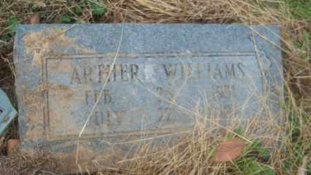 WILLIAMS, ARTHER - Cross County, Arkansas | ARTHER WILLIAMS - Arkansas Gravestone Photos