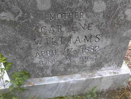 WILLIAMS, CARLENE - Cross County, Arkansas | CARLENE WILLIAMS - Arkansas Gravestone Photos