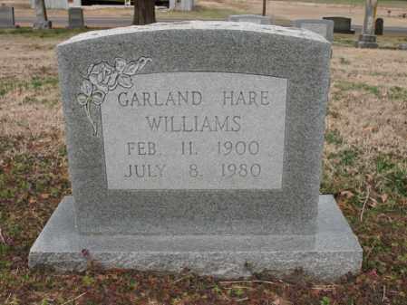 WILLIAMS, GARLAND HARE - Cross County, Arkansas | GARLAND HARE WILLIAMS - Arkansas Gravestone Photos