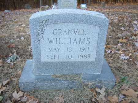 WILLIAMS, GRANVEL - Cross County, Arkansas | GRANVEL WILLIAMS - Arkansas Gravestone Photos