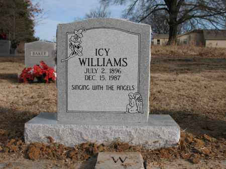 WILLIAMS, ICY - Cross County, Arkansas | ICY WILLIAMS - Arkansas Gravestone Photos