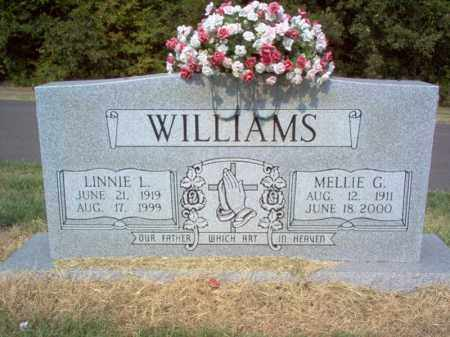 WILLIAMS, MELLIE G - Cross County, Arkansas | MELLIE G WILLIAMS - Arkansas Gravestone Photos