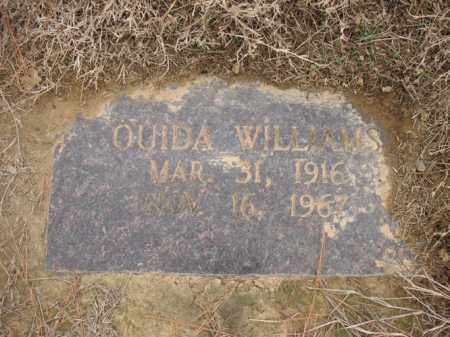 WILLIAMS, OUIDA - Cross County, Arkansas | OUIDA WILLIAMS - Arkansas Gravestone Photos