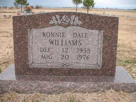 WILLIAMS, RONNIE DALE - Cross County, Arkansas | RONNIE DALE WILLIAMS - Arkansas Gravestone Photos