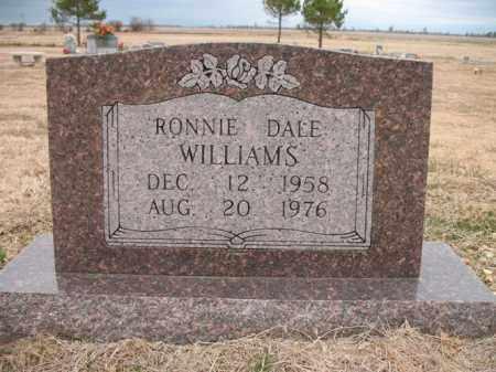 WILLIAMS, RONNIE DALE - Cross County, Arkansas | RONNIE DALE WILLIAMS - Arkansas Gravestone Photos