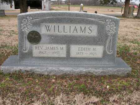 WILLIAMS, REV JAMES M - Cross County, Arkansas | REV JAMES M WILLIAMS - Arkansas Gravestone Photos