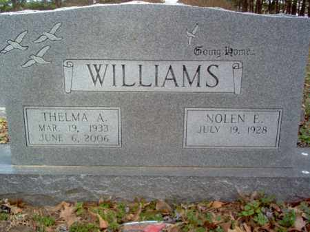 WILLIAMS, THELMA A - Cross County, Arkansas | THELMA A WILLIAMS - Arkansas Gravestone Photos