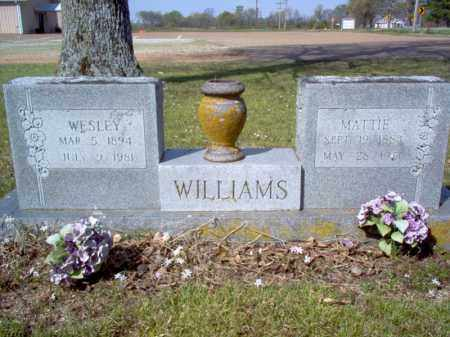 WILLIAMS, WESLEY - Cross County, Arkansas | WESLEY WILLIAMS - Arkansas Gravestone Photos