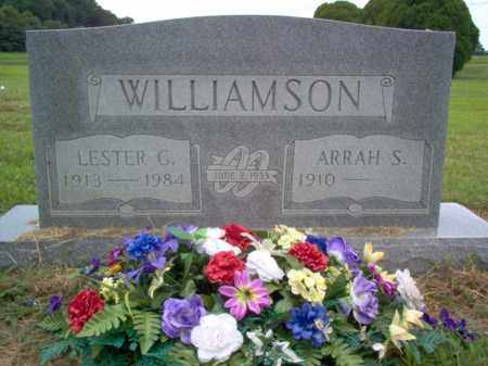 WILLIAMSON, LESTER G - Cross County, Arkansas | LESTER G WILLIAMSON - Arkansas Gravestone Photos