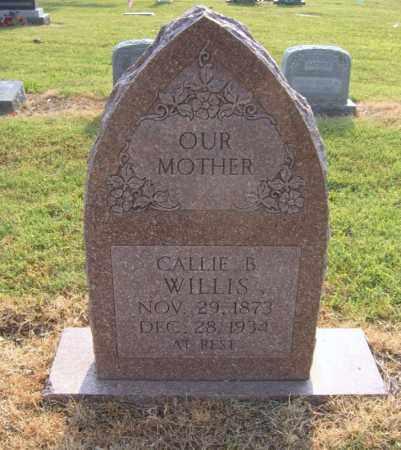 WILLIS, CALLIE B - Cross County, Arkansas | CALLIE B WILLIS - Arkansas Gravestone Photos