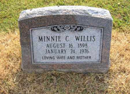 WILLIS, MINNIE C - Cross County, Arkansas | MINNIE C WILLIS - Arkansas Gravestone Photos