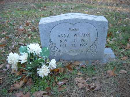 WILSON, ANNA - Cross County, Arkansas | ANNA WILSON - Arkansas Gravestone Photos