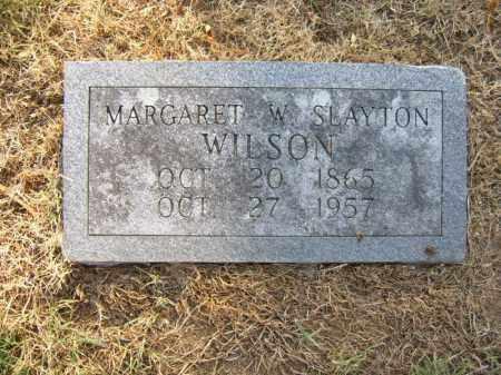WILSON, MARGARET W - Cross County, Arkansas | MARGARET W WILSON - Arkansas Gravestone Photos