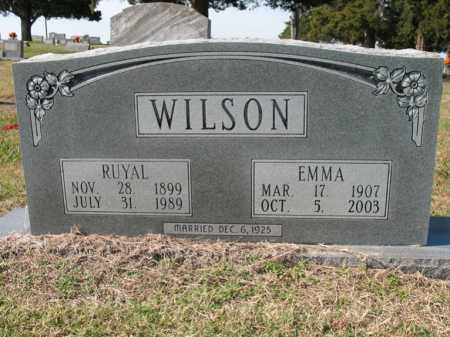 WILSON, RUYAL - Cross County, Arkansas | RUYAL WILSON - Arkansas Gravestone Photos