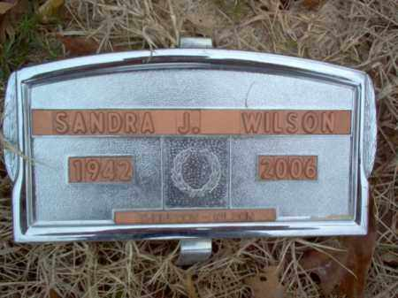 WILSON, SANDRA J - Cross County, Arkansas | SANDRA J WILSON - Arkansas Gravestone Photos