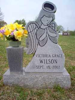 WILSON, VICTORIA GRACE - Cross County, Arkansas | VICTORIA GRACE WILSON - Arkansas Gravestone Photos
