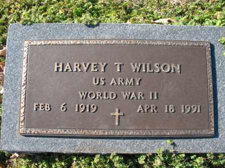 WILSON (VETERAN WWII), HARVEY T - Cross County, Arkansas | HARVEY T WILSON (VETERAN WWII) - Arkansas Gravestone Photos