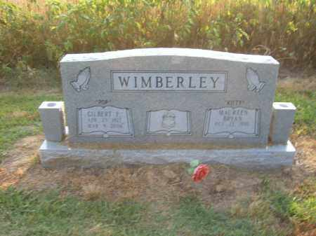 WIMBERLEY, GILBERT F - Cross County, Arkansas | GILBERT F WIMBERLEY - Arkansas Gravestone Photos