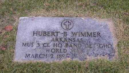 WIMMER  (VETERAN WWI), HUBERT B - Cross County, Arkansas | HUBERT B WIMMER  (VETERAN WWI) - Arkansas Gravestone Photos