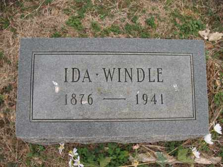 WINDLE, IDA - Cross County, Arkansas | IDA WINDLE - Arkansas Gravestone Photos