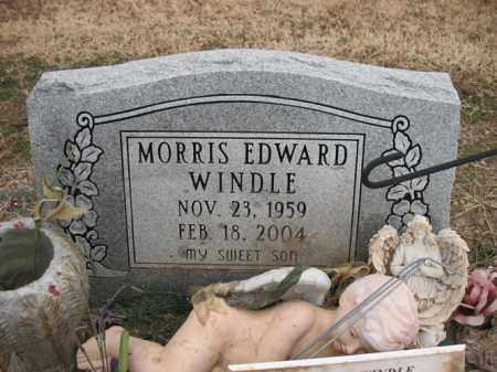 WINDLE, MORRIS EDWARD - Cross County, Arkansas | MORRIS EDWARD WINDLE - Arkansas Gravestone Photos