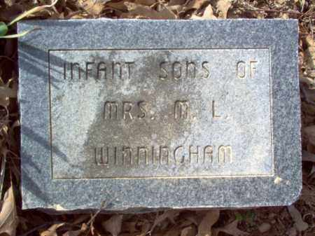 WINNINGHAM, SONS - Cross County, Arkansas | SONS WINNINGHAM - Arkansas Gravestone Photos